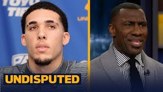 Shannon Sharpe explains why the Ball brothers playing in Lithuania isn't going to work | UNDISPUTED