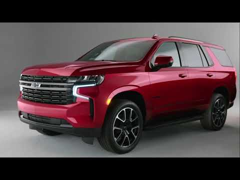 FIRST LOOK: 2021 Chevrolet Tahoe SUV