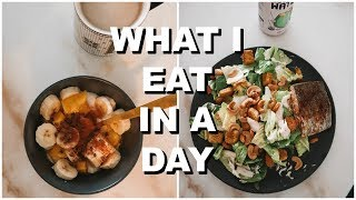 COLLEGE WHAT I EAT IN A DAY | Keaton Milburn