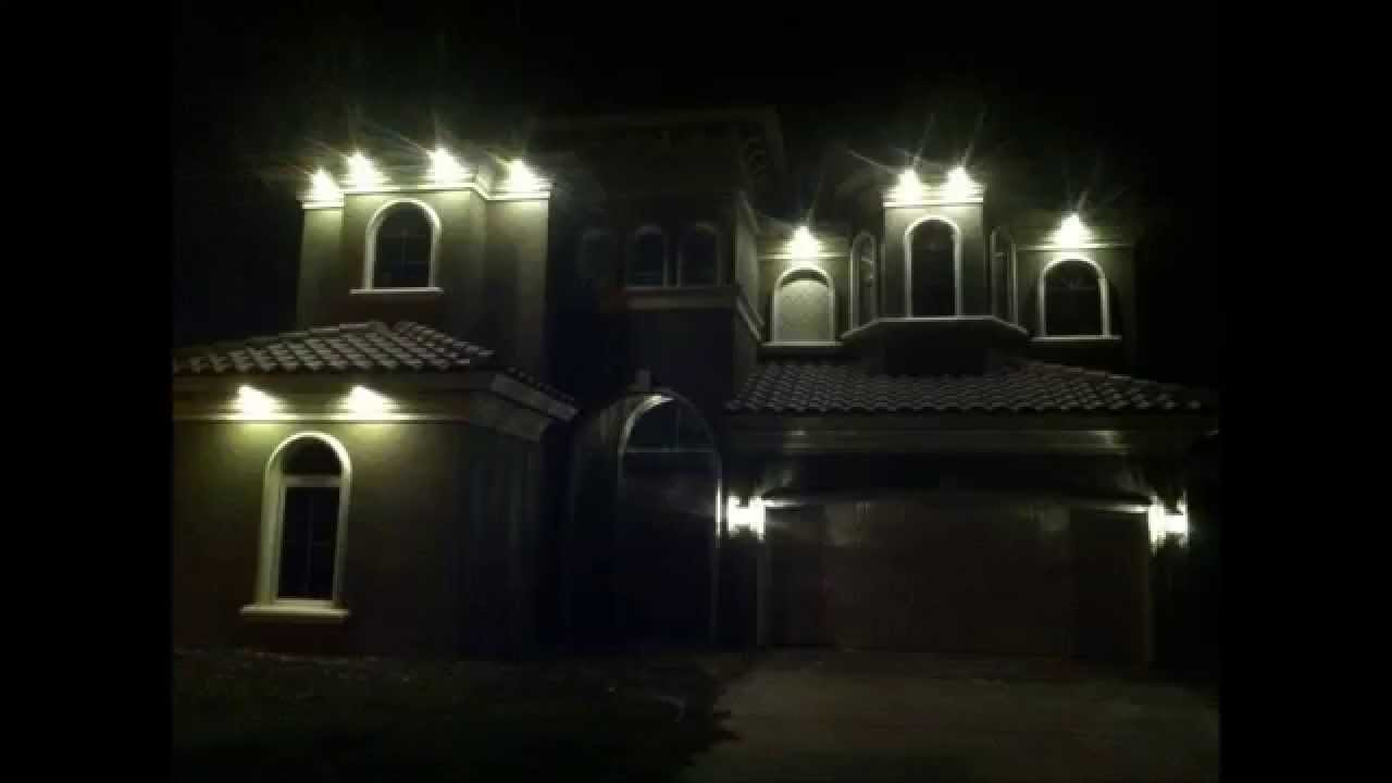 Downlighting In Soffits Using Led Energy Efficient Light