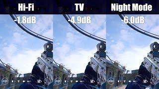 """Dynamic Range"" audio settings: tested and demonstrated - Rainbow Six Siege"