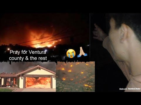 BREAKING: LIVE IN VENTURA COUNTY HOW THE THOMAS FIRE STARTED (EMOTIONAL)