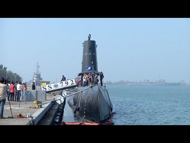 首艘潛艦國造原型艦 傳總統11/3主持開工
