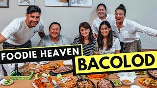 FOREIGNERS react to BACOLOD FILIPINO FOOD