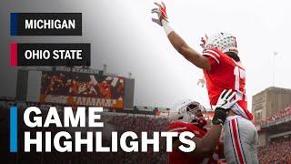 Highlights: Michigan Wolverines at Ohio State Buckeyes   Big Ten Football