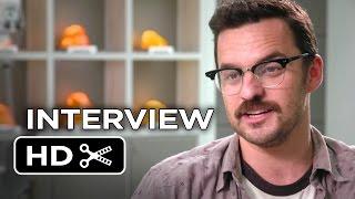Jurassic World Interview - Jake Johnson (2015) - Chris Pratt, Bryce Dallas Howard Movie HD
