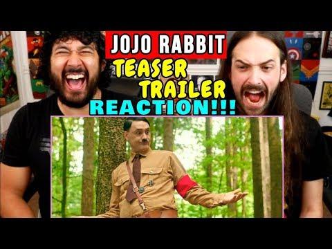 JOJO RABBIT | Teaser | Taika Waititi | TRAILER REACTION!!!