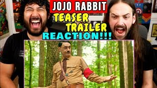 JOJO RABBIT | Teaser | Taika Waititi | TRAILER REACTION!!!