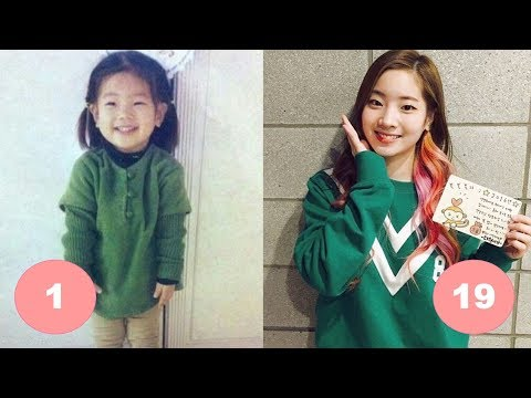 Dahyun TWICE Childhood | From 1 To 19 Years Old