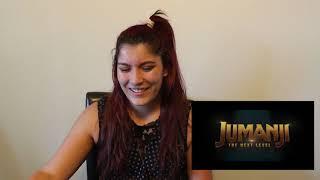 Jumanji The Next Level Trailer Reaction