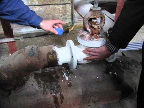 Использования Изоллата для трубопровода с горячим паром