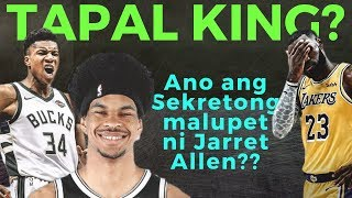 Jarret Allen's Secret to blocking Lebron James, Blake Griffin & Giannis Antetokounmpo Revealed