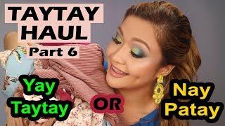 PINAKAMABAGSIK NA TAYTAY HAUL| HIGH FASHION NA SOBRANG MURA!| YAY TAYTAY O NAY PATAY?!?| MRS. F