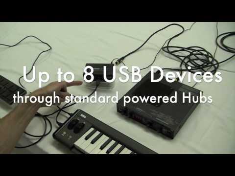 iConnectMIDI - Simple USB MIDI to DIN MIDI Bridging