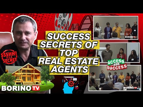 SUCCESS SECRETS OF TOP REAL ESTATE AGENTS - What's Working Right Now