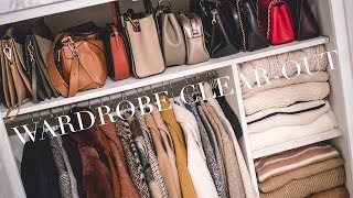 Re-Organising & Clearing Out My Winter Wardrobe | Vlogmas Day 6