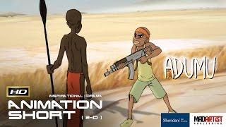 "2D Animated Short Film ""ADUMU"" Inspirational Animation by Adam Temple & Sheridan"