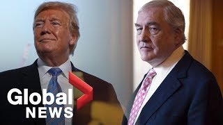 Trump grants pardon for former media baron Conrad Black