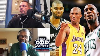 Would You Rather Have Kobe Bryant's Career or Tim Duncan's? | THE ODD COUPLE
