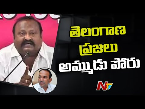 Minister Gangula Kamalakar strong counter to Eatala Rajender