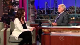 Julia Roberts on David Letterman 2010 (Part 3)