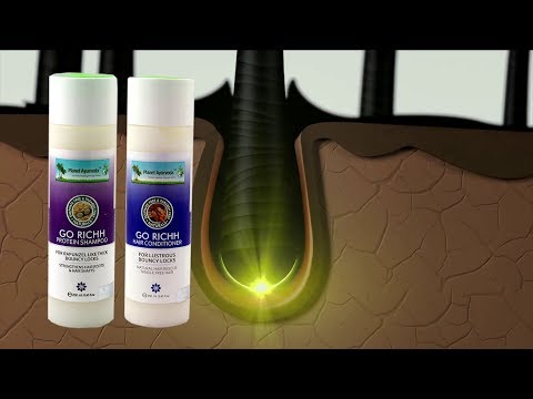 Prevent Dandruff and Radiantly Alive Hair with GO RICH Hair Shampoo & Conditioner