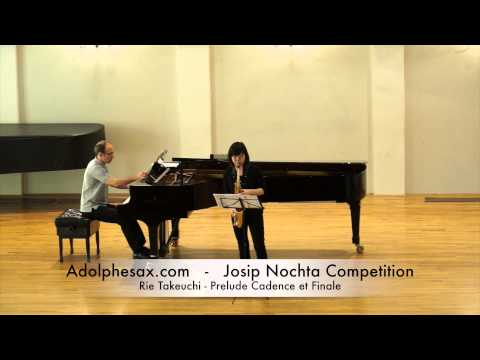 JOSIP NOCHTA COMPETITION Haruka Taniguchi Prelude Cadence et Finale