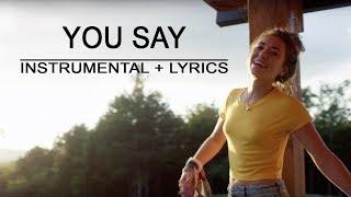 You Say - Lauren Daigle | Piano Instrumental | Lyrics | by Betacustic