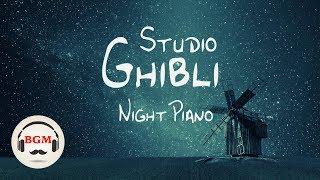 Studio Ghibli Piano Music  - Sleep Piano Music - Relaxing Piano Music