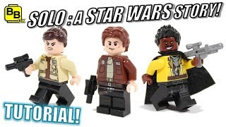SOLO : A STAR WARS STORY LEGO MINIFIGURE CREATIONS!