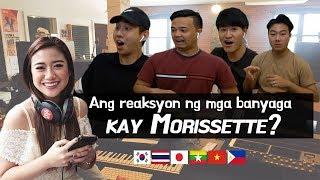 "Foreigners react to ""Akin Ka Na Lang - Morissette"""