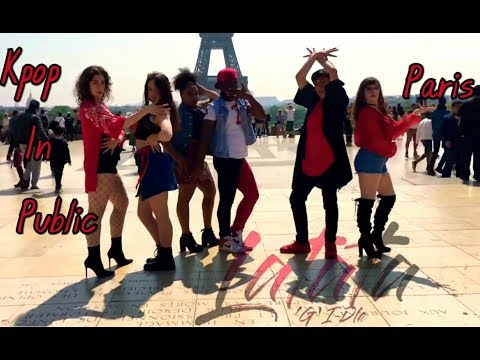 [KPOP IN PUBLIC] (G)I-DLE ((여자) 아이들) -LATATA (라타타) DANCE COVER by VICTORY's from FRANCE