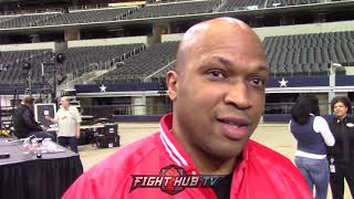 "DERRICK JAMES ON MIKEY SPARRING PARTNERS ""IT'S A JOKE TRYING TO EMULATE SPENCE"""