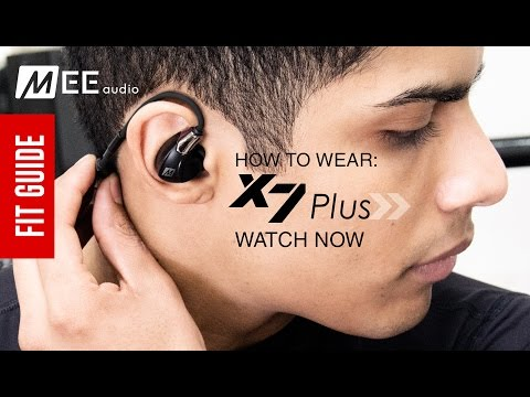 Guide: How to Wear the MEE audio X7 Plus Wireless Sports Headset