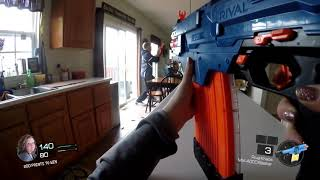 Nerf Gun Game 2!  First Person in 4K