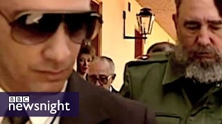 Bodyguard reveals lifestyle of Fidel Castro - Newsnight archives