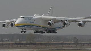 Ohromné lietadlá - Antonov 124 Ruslan