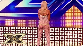 WHERE ARE YOUR CLOTHES?!   The X Factor UK