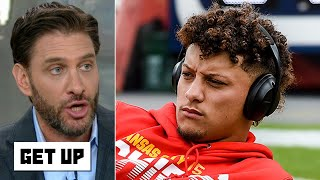 Patrick Mahomes' knee injury jeopardizes the Chiefs' Super Bowl hopes - Mike Greenberg | Get Up
