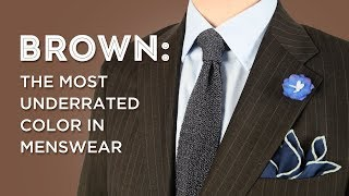 Brown: How To Wear, Style & Pair Brown in Menswear