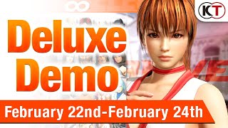 Dead or Alive 6 Deluxe Demo released