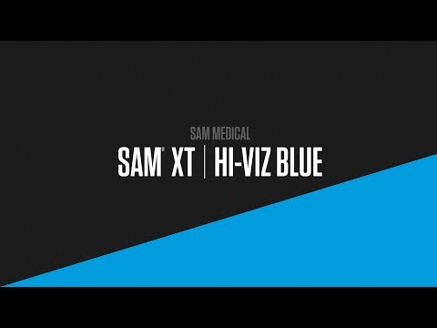 Engineered for rapid application, SAM XT's innovative design requires fewer windlass turns, and enables easier, faster training and intuitive use. Meets MIL-STD 810G for durability. NOW AVAILABLE IN HI-VIZ BLUE.