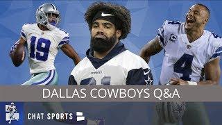 Dak, Amari & Zeke Contracts, Taryn Christion Future & La'el Collins Trade? | Cowboys Mailbag