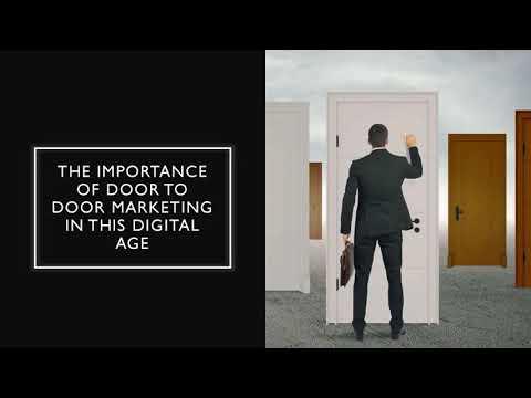 The Importance Of Door To Door Marketing In The Digital Age