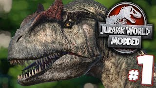 A Whole New Game!!! - Jurassic World Evolution Modded Series | Ep1