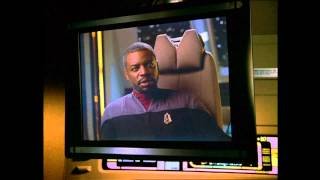 Star Trek Voyager - Captain La Forge of the USS Challenger