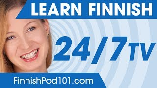 Learn Finnish 24/7 with FinnishPod101 TV