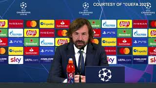 """Juve-Porto 3-2, Pirlo: """"Capita di uscire. Il progetto è appena partito. Ho parlato con Agnelli"""""""