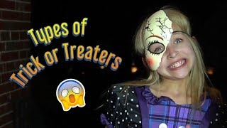 Types of Trick or Treaters | Halloween | Lilly K | Funny