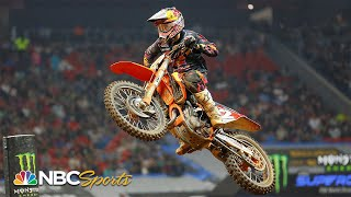 Top 10 moments from 2021 Supercross season  | Motorsports on NBC